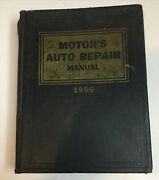Vintage 1956 Motor's Auto Repair Manual, Hard Cover, 19th Edition