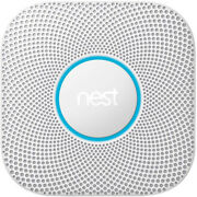 Google Nest Protect Wired Smoke And Carbon Monoxide Alarm White 2nd Gen