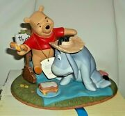 Pooh Figurine/ornament From And039pooh And Friendsand039 Range New Boxed