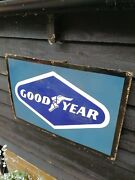 Goodyear Enamel Sign Goodyear Authorised Dealer 1960and039s Dealer Sign