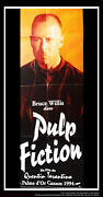 Pulp Fiction Style C 20 X 60 French Door Panel Movie Poster Original 1994