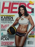 Muscle Fitness Hers Spring 2017 Karen Mcdougal Fat Shed Weight Lean Free Shippin