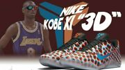 Nike Kobe Xi 11 Low 3d Cool Grey Red Blue Multicolor Wtk What The Bryant 6 Vi 9