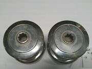 Used Pair Merriman Holbrook 16 Single Speed Stainless Steel Winches Lot 5009