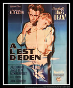 East Of Eden Style A 4x6 Ft French Grande Movie Poster Rerelease 1955