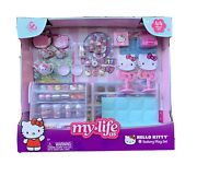 """My Life As Hello Kitty Cafe Bakery 44 Pc Play Set For 18"""" Doll Hot 2020"""