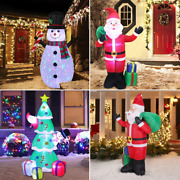 Inflatable Outdoor Glow Christmas Tree Decorations For Home Ornaments New Year