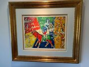 Marc Chagall Circus Horse And Rider Lithograph