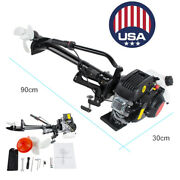 3.6 Hp 4 Stroke Heavy Duty Air-cooled Control Outboard Motor 55cc Boat Engine Ce