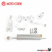 Motocorse Silver Mounting Kit+steering Damper Ohlins Mv Agusta Dragster/rc 16