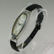 Gallet And Co. Antique 935 Sterling Silver Ladies Art Deco Manual Wristwatch