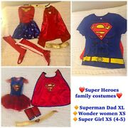 Super Heroes Family Halloween Costumes 〰️3 Costumes〰️