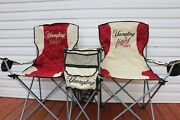 Yuengling Beer Folding Double Lawn/beach Chairs New With Carrying Bag