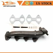 New For Ford Truck 5.4l Exhaust Manifold With Gasket Kit Passenger Side Right Rh