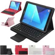 Detachable Keyboard Flip Leather Case Cover For Samsung Galaxy Tab A S2 S3 S5e