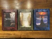 Lord Of The Rings Limited Edition Dvd Set Good For Antique Collection