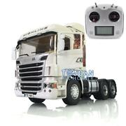 1/14 Lesu Rc Metal 64 Chassis Sound Scania R730 Rc Gripen Tractor Truck Radio