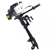 New 4 Stroke 4 Hp Outboard Motor With Air Cooling System 44cc Boat Engine