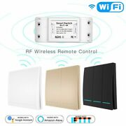 Rf433mhz Wireless Remote Control Smart Switch Wall Panel Transmitter Smart Life