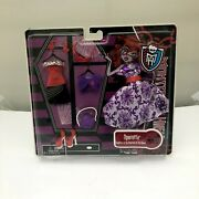 New Mattel Monster High Ghoulia Yelps And Operetta Clothes Doll Gift Set Of 2 Toy