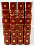 A Short History Of The English People J. R. Green 1892 Illustrated Ed 4 Volumes