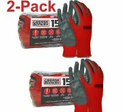 Grease Monkey Nitrile-coated Work Gloves - Pack Of 30 Pairs Of Gloves
