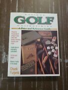 Antique Golf Collectibles Price Reference Guide Book By Chuck Furjanic Signed