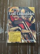 Antique Golf Collectibles Price Reference Guide Chuck Furjanic 2nd Ed Signed