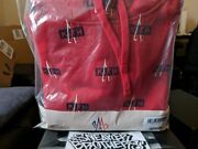 Nwt Kith X Moncler Red Hooded Sweater Sweatshirt Xs Ronnie Rf 8054654181457