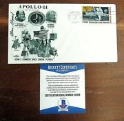 Apollo 14 Astronaut Alan Shepard Signed Postal Cover, First American In Space