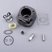 Big Bore Cylinder Piston Kit Intake Spacer Assy Fit For Husqvarna 266xp Chainsaw