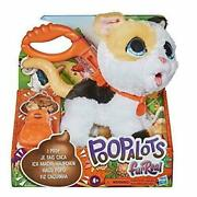 Furreal Poopalots Kitty Cat Big Wags Interactive Pet Toy New Expedited Shipping