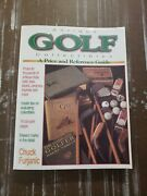 Antique Golf Collectibles Price Reference Guide Chuck Furjanic Signed - Nancy..