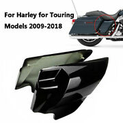 Black Stretched Side Covers For Harley Electra Glide Road King Classic Flhrc Cvo