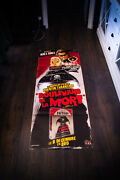 Grindhouse Death Proof 20 X 60 French Door Panel Movie Poster Original 2007