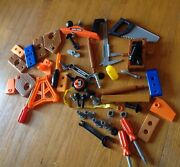 Black And Decker Kids Toy Tool Play Pretend Screwdriver Wrench + More Kit Set