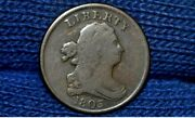 1803 Half Cent C4 R4 11 Berries Fine Take 5 Off At Checkout