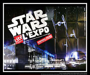 Star Wars Exhibition 5x8 Ft Double French Grande Movie Poster Original 2006