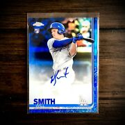 2019 Topps Chrome Blue Refractor Auto Autograph Ra-ws Will Smith Rc D 016/150