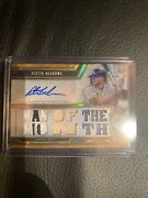 2020 Topps Triple Threads Austin Meadows Tampa Bay Rays /9 Man Of The Month