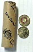 2019 Coins 2 Repatriation 25 Coin Roll, Genuine Ram Roll, H/t Tracked Post
