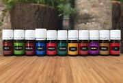 New Sealed Authentic Young Living Essential Oils 15ml10ml 5ml Free Shipping