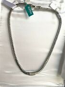 Elegant Effy 925 Sterling Silver 18k Yellow Gold And Diamond Necklace