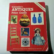 Schroeders Antiques Price Guide Fifth Edition 1987 - Collector Books 0891453393