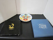 Disney Collector Plates Lot Of 3 25th/50th Anniversary/60th Birthday Mickey
