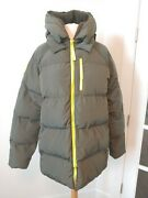 Nwt 179 Fabletics Xl Maia Puffer Jacket Coat Army Green