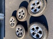 5 Jeep Wrangler Wheels And Tires. 2017 Sahara. Less Than 200 Miles Of Use.andnbsp