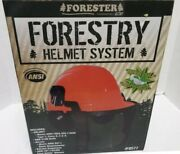 Forester Complete Forestry Chainsaw Helmet System 3-pc. Set,ear Muffs, Safety