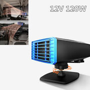 Portable Car Electric Heater Heating Cooling Fan Defroster Demister 360° Rotate