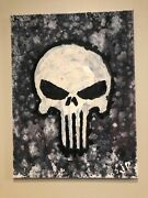 """Frank Original Artwork. Acrylic And Oil On Canvas. 18""""x24"""". Free Us Shipping."""